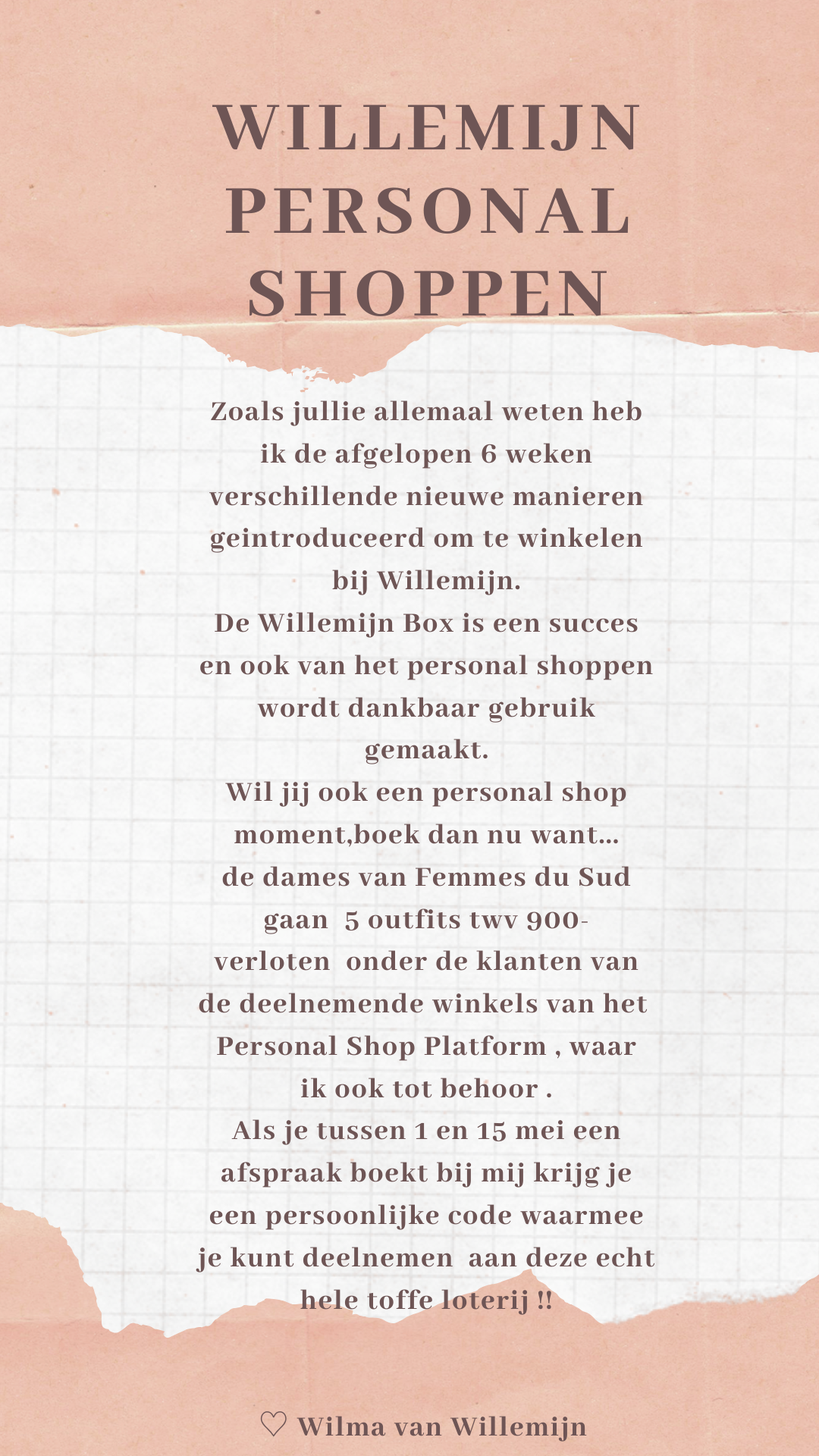 personal shoppen Willemijn